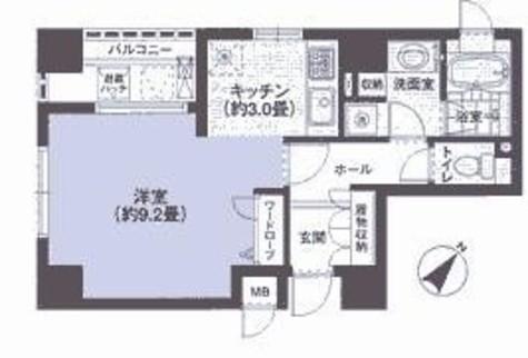 渋谷山手通りSTレジデンス / 14階 部屋画像1