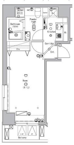 ベレール日本橋兜町 / 4階 部屋画像1