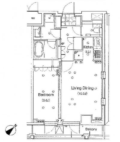 アパートメンツ都立大学 (八雲2) / 504 部屋画像1