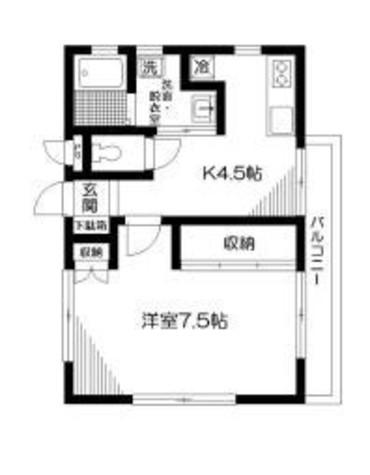 ストーン目黒 / 303 部屋画像1