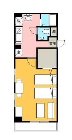 アーバンフォート横浜 / 2階 部屋画像1