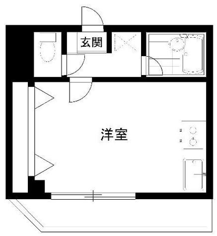 カレジ馬込 / 3階 部屋画像1
