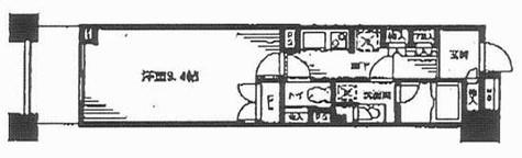 レジディア日本橋馬喰町 / 305 部屋画像1