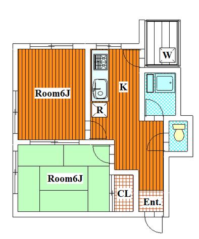 第一タケモトビル / 4-C 部屋画像1