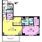アデニウム高輪 / 212 部屋画像1