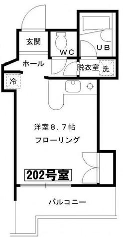 エオストル月島 / 2階 部屋画像1