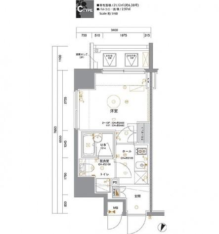 セジョリ横浜みなとみらいⅡ / 502 部屋画像1