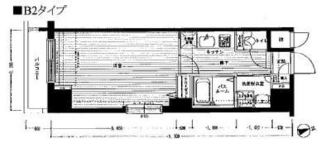 レジディア銀座東 / 3階 部屋画像1