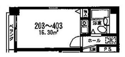 ロマロ銀座新富 / 403 部屋画像1