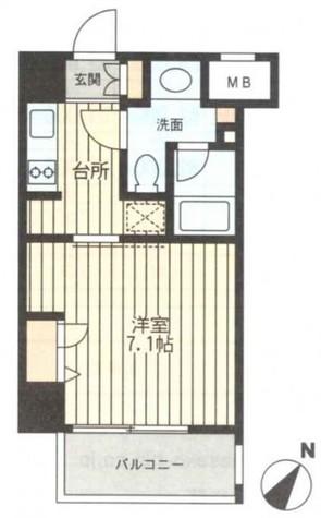 レジディア新横浜 / 1008 部屋画像1