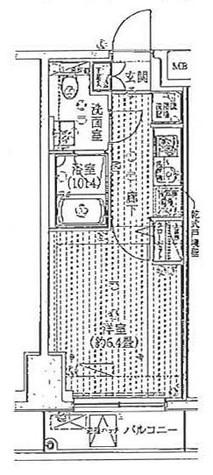 プレール・ドゥーク豊洲 / 2階 部屋画像1