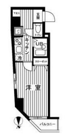 ジュエル上野毛 / 5階 部屋画像1