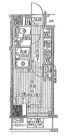 プレール・ドゥーク豊洲 / 3階 部屋画像1