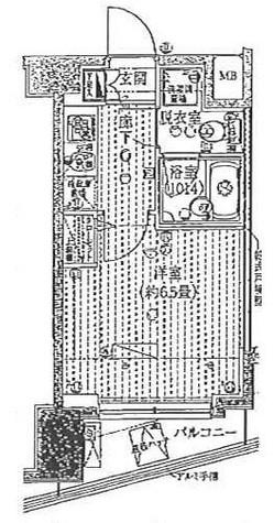 プレール・ドゥーク豊洲 / 5階 部屋画像1