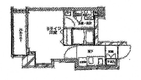 Verona門前仲町Lusso(ヴェローナ門前仲町ルッソ) / 803 部屋画像1