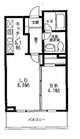 ステラメゾン目黒本町(旧プレイアデ目黒本町) / 3階 部屋画像1