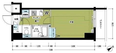 トーシンフェニックス新横濱イクシール / 803 部屋画像1
