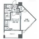 レジディア市ヶ谷 / 804 部屋画像1