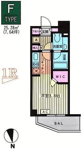 ファインアドレス新御徒町 / 14階 部屋画像1