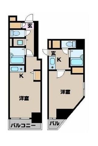 カスタリア新宿 / 504 部屋画像1