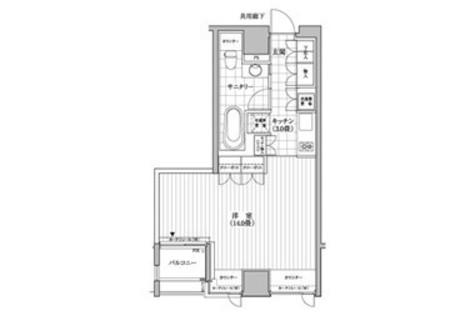 カスタリア銀座(旧イプセギンザ) / 12階 部屋画像1
