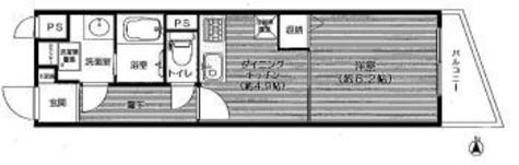 ライオンズマンション後楽園 / 4階 部屋画像1