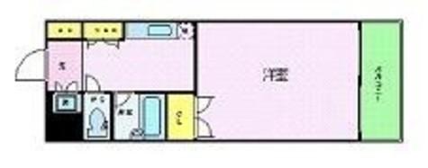 パレステュディオ新宿パークサイド / 4階 部屋画像1