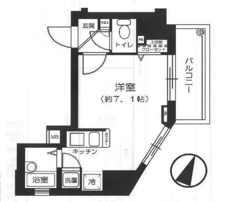 菱和パレス笹塚 / 2階 部屋画像1