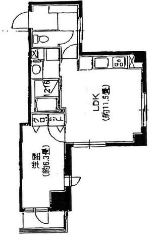 ノステルコート日本橋 / 4階 部屋画像1