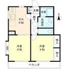 大和東コーポ / 203 部屋画像1