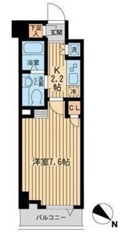 リヴシティ関内(旧ノステルコート関内) / 503 部屋画像1