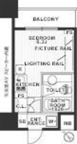 レジディア東銀座(旧アルティス東銀座) / 2階 部屋画像1
