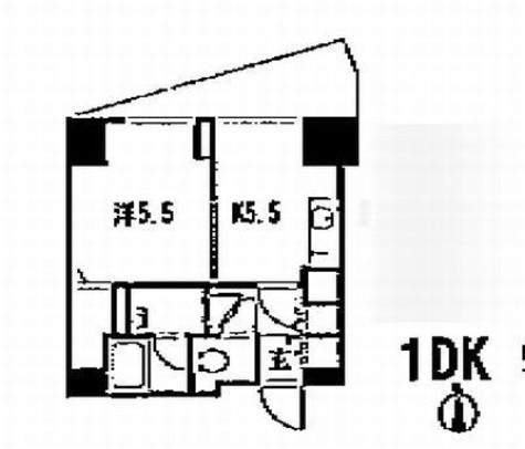 銀座レジデンス伍番館 / 1009 部屋画像1
