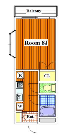 ベルデ北千束 / 3階 部屋画像1