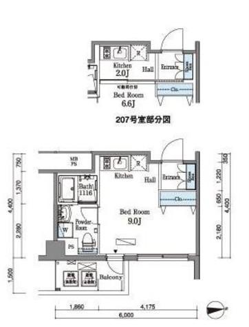 パークアクシス横浜井土ヶ谷 / 207 部屋画像1