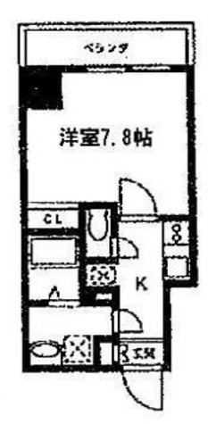 スパシエベルタ横浜 / 8階 部屋画像1