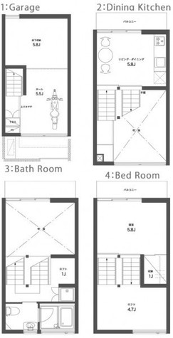 SEPTET セプテット / 1階 部屋画像1