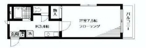 シェルム西五反田 / 203 部屋画像1