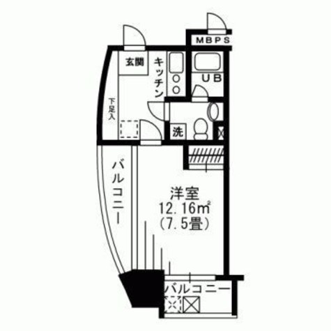 セイラン水天宮前 / 5階 部屋画像1