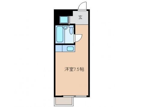 セブンスターハイツ代々木Ⅱ / 204 部屋画像1