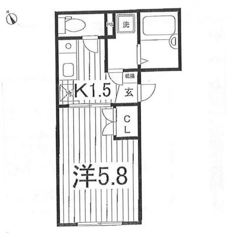 アダージョ中野 / 203 部屋画像1