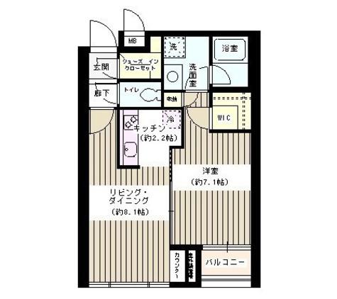 ポラリス / 3階 部屋画像1