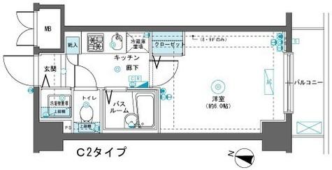 フェニックス横濱吉野町 / 203 部屋画像1