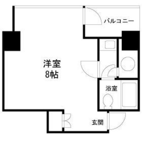 タワーズ10 / 9階 部屋画像1