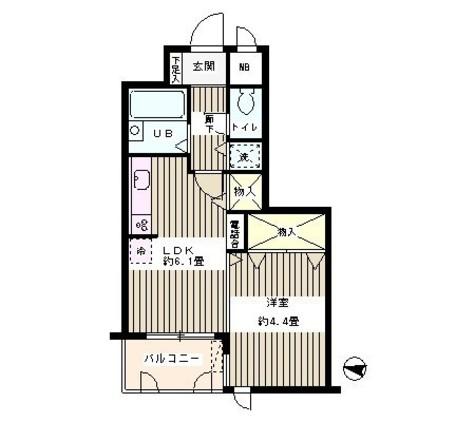 目白台ガーデン / 1階 部屋画像1