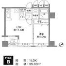 カスタリア北上野(旧ニューシティレジデンス上野タワー) / 11階 部屋画像1