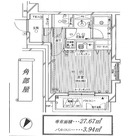 ダイアパレス赤坂 / 207 部屋画像1