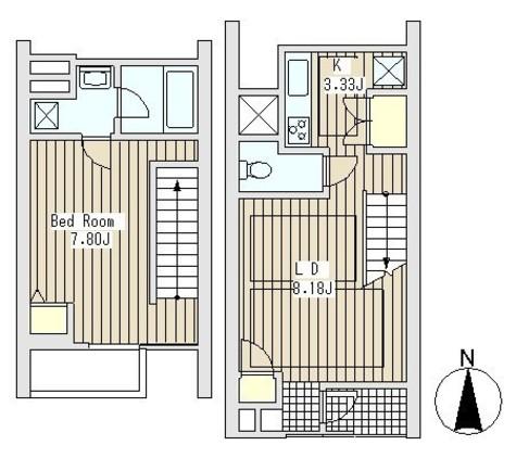 四谷アパートメント / 1階 部屋画像1