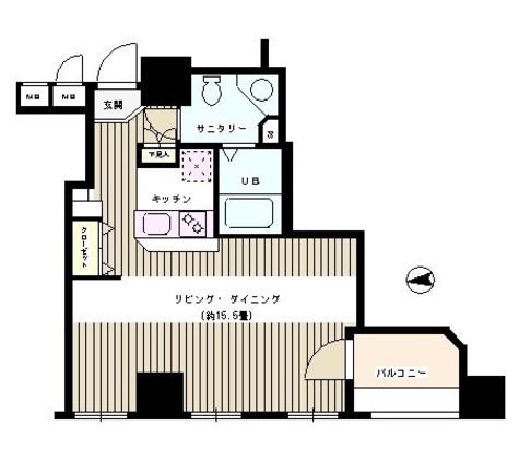 半蔵門 1分マンション / 7階 部屋画像1