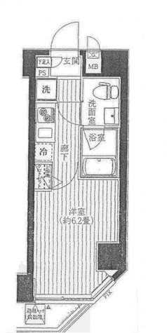 プレール・ドゥーク川崎 / 403 部屋画像1